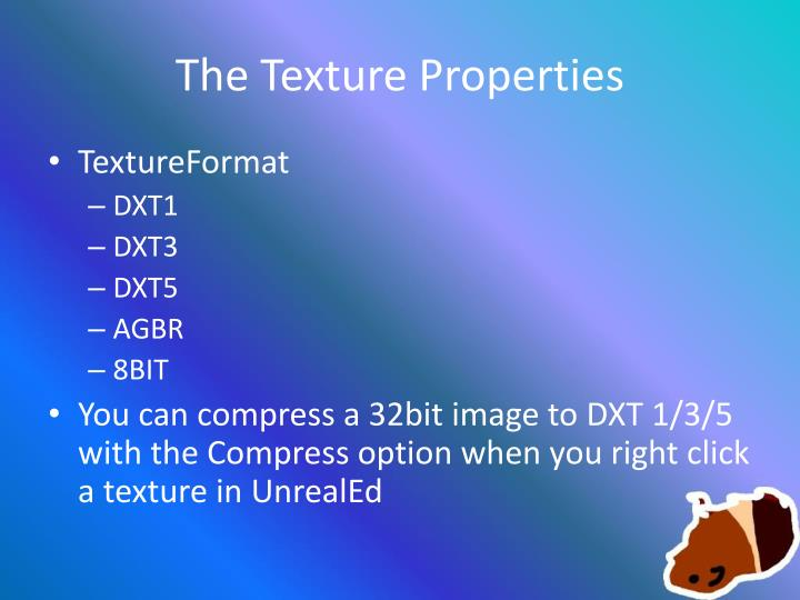 PPT - CSE4MOD Textures and Materials PowerPoint Presentation - ID
