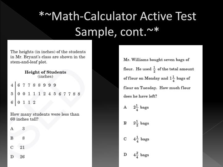 *~Math-Calculator Active Test