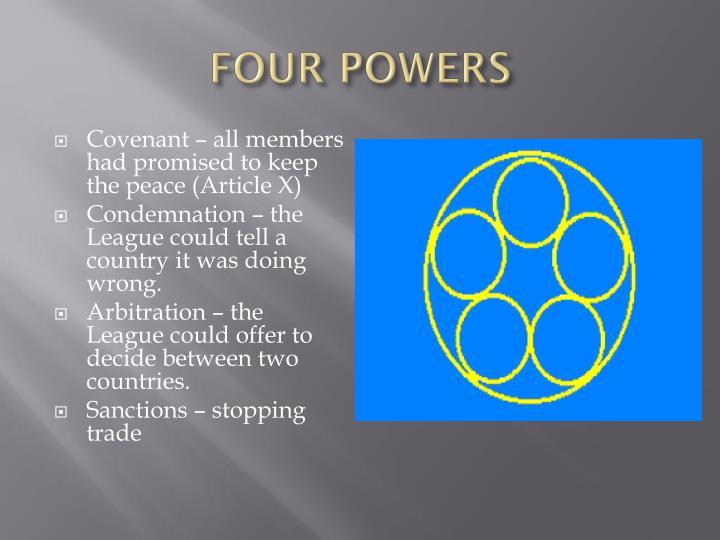 FOUR POWERS