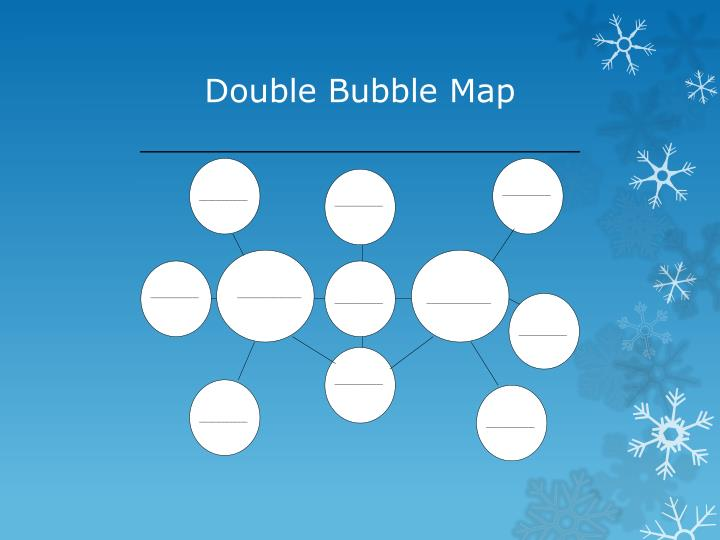 Double Bubble Map