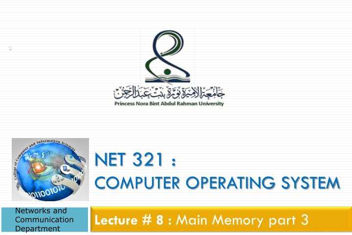 net 321 computer operating system n.