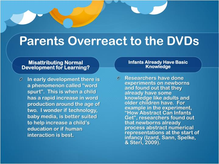 Parents Overreact to the DVDs