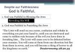 despite our faithlessness god is faithful4