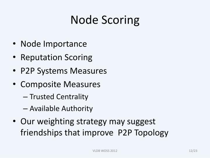 Node Scoring