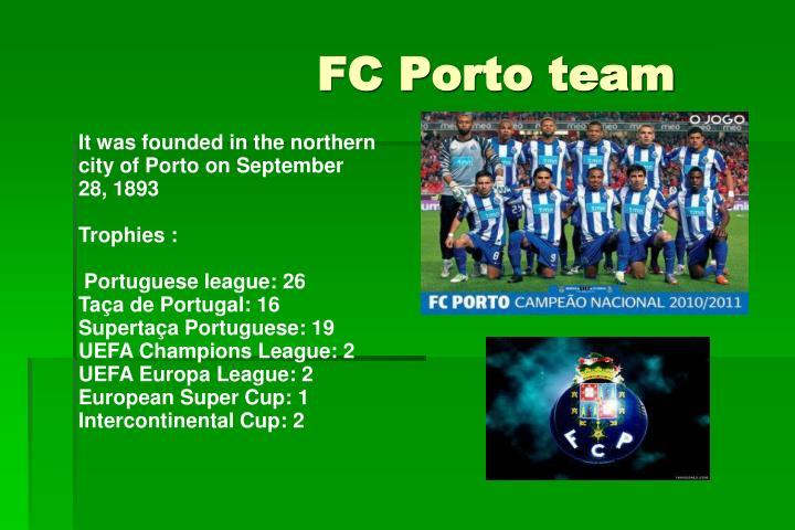 FC Porto team