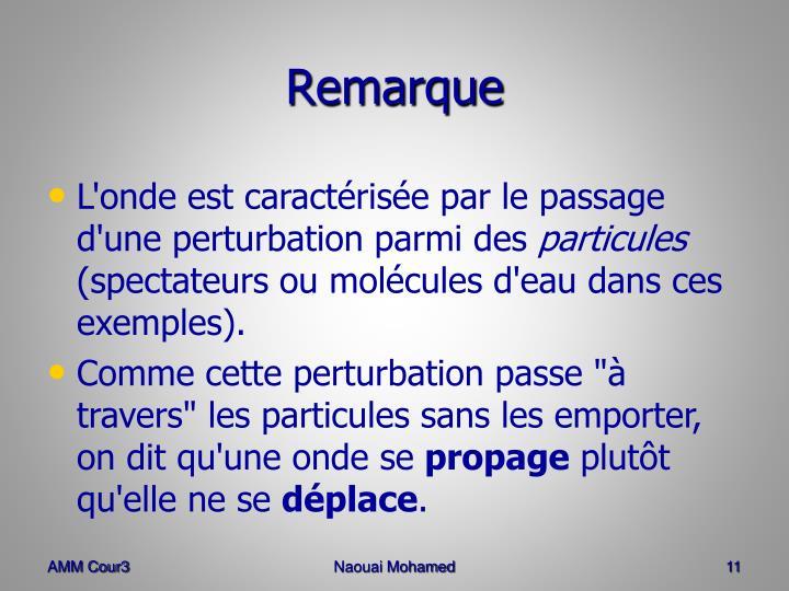 Remarque