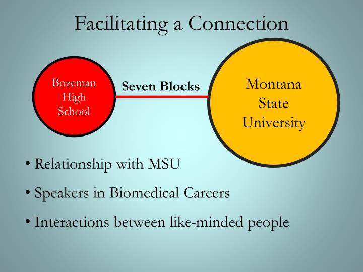 Facilitating a Connection
