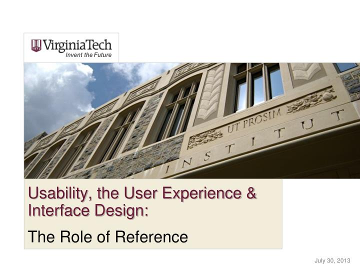 usability the user experience interface design n.
