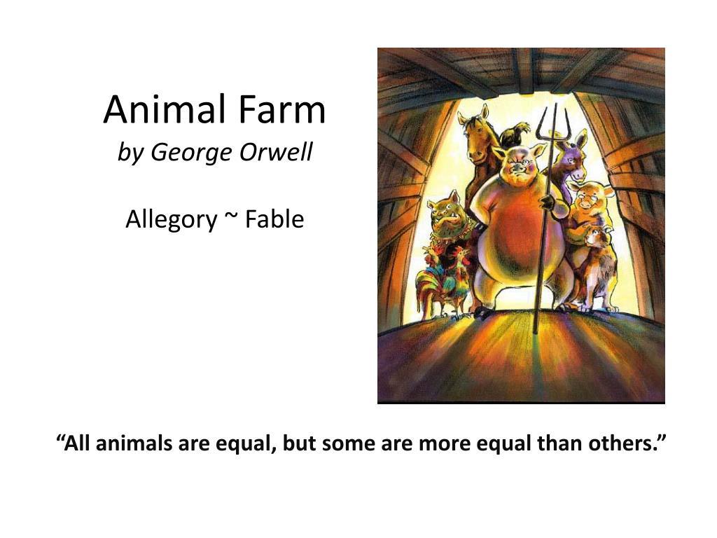 how is animal farm an allegory