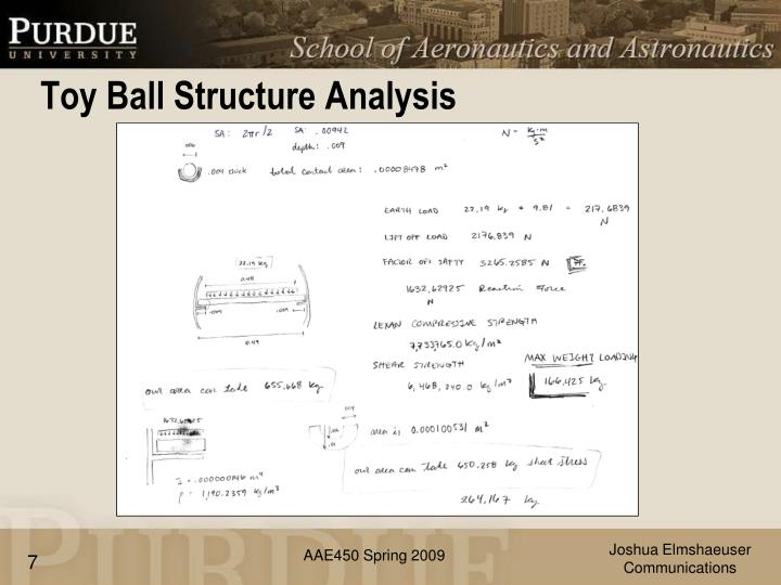Toy Ball Structure Analysis