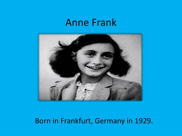 Who Was Anne Frank's Gay Uncle Walter