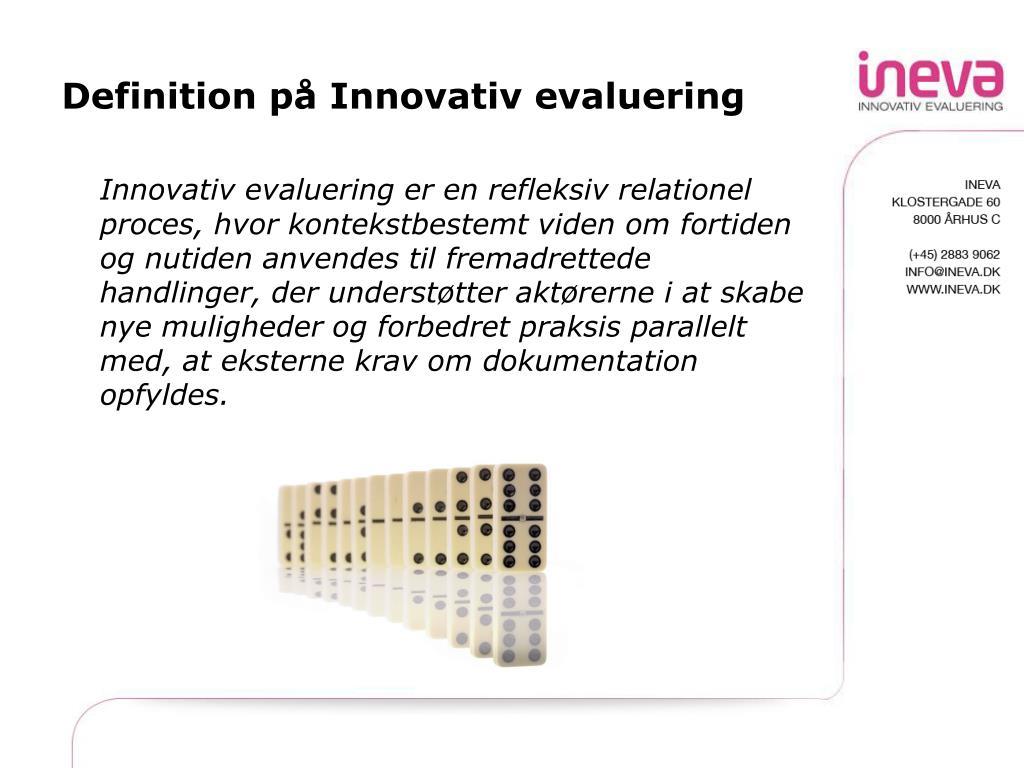 Innovativ Definition