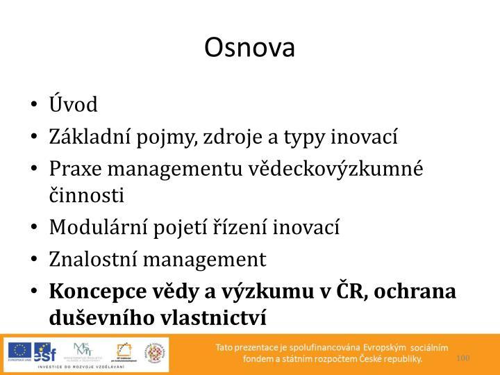 Osnova