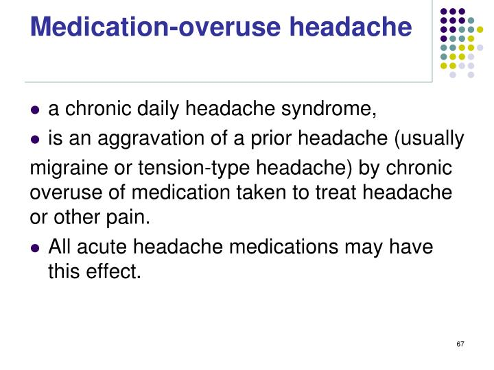 Medication-overuse headache