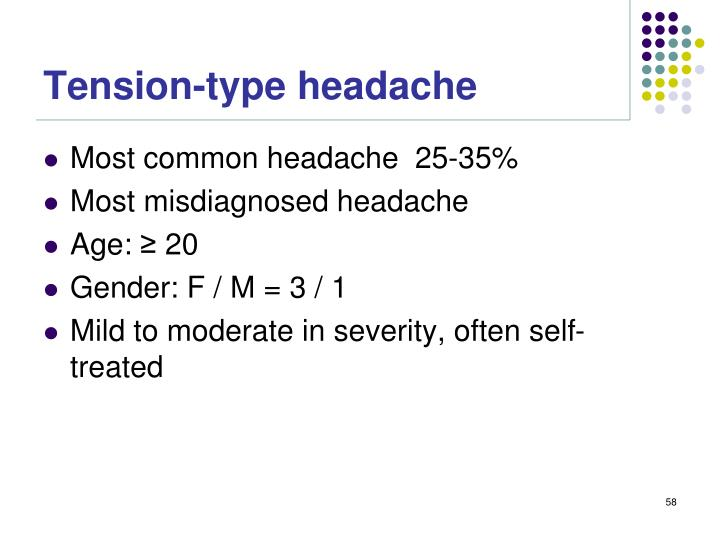 Tension-type headache