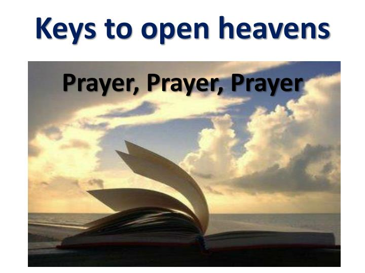 Prayer, Prayer, Prayer