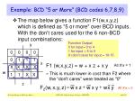 example bcd 5 or more bcd codes 6 7 8 9
