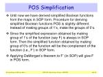 pos simplification