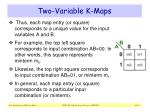 two variable k maps1