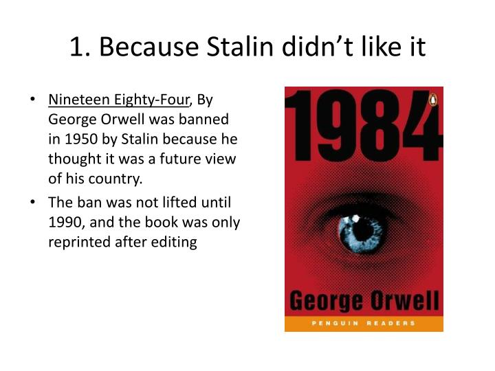 a review of george orwells book nineteen eighty four