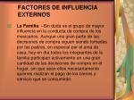 factores de influencia externos4