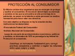 protecci n al consumidor