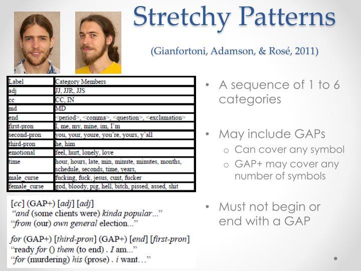 Stretchy Patterns