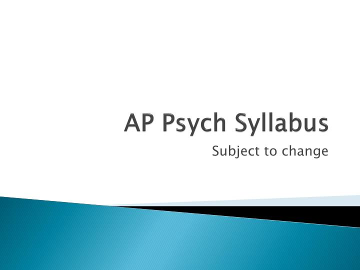ap american studies syllabus This syllabus for a fully online class explores key features of latin america's society, culture and history this winter i am teaching an introduction to latin american studies course in a fully online format in order to create a sense of community, i have scaffolded a number of assignments around a.