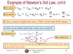 example of newton s 3rd law cnt d