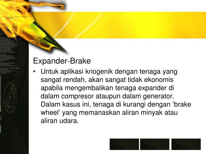 Expander-Brake