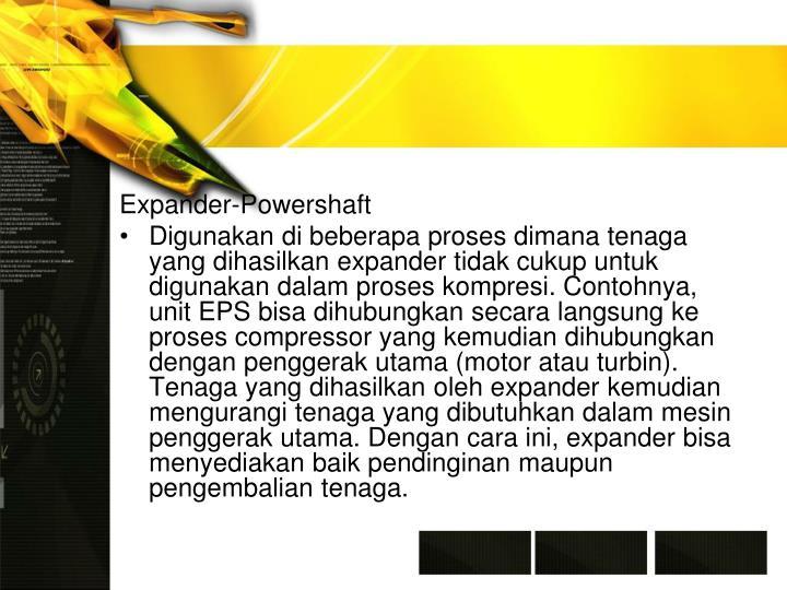 Expander-Powershaft