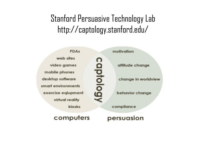 Stanford Persuasive Technology Lab