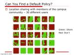 can you find a default policy