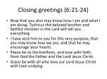 closing greetings 6 21 24
