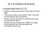 vs 1 4 children parents