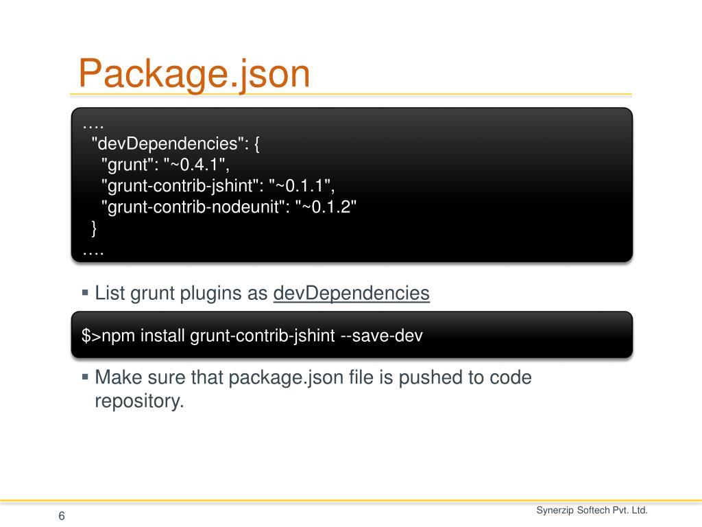 PPT - The JavaScript Task Runner PowerPoint Presentation
