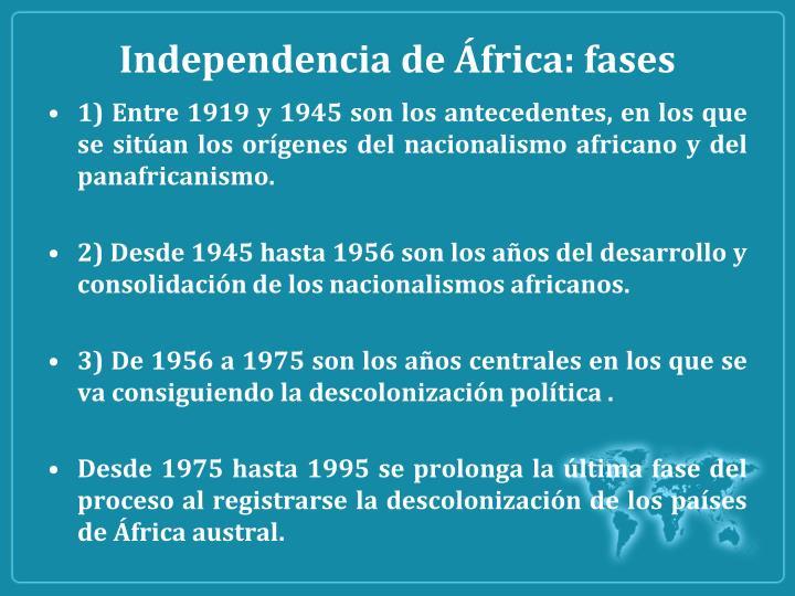 Independencia de
