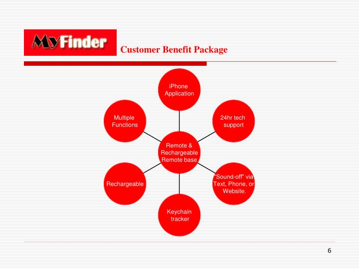 Customer Benefit Package