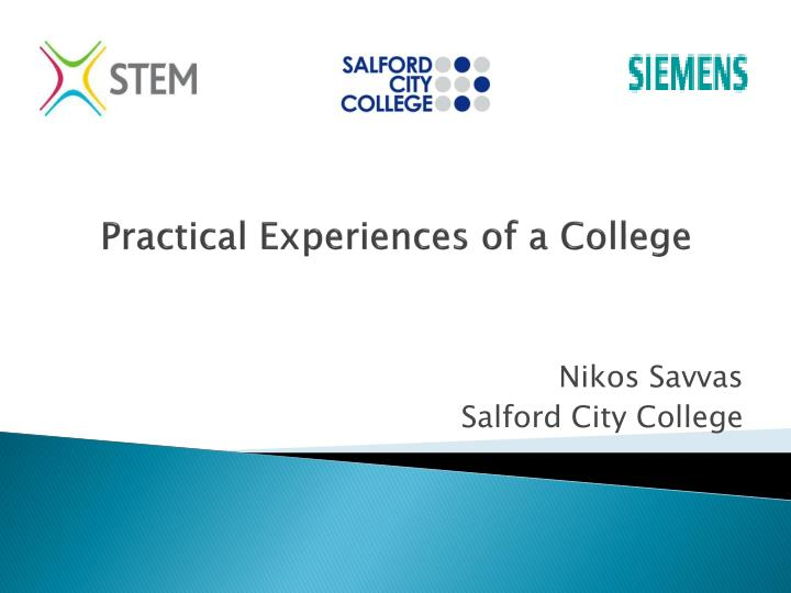 practical experiences of a college
