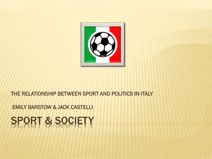 the relationship between race sports and society in america Ebscohost serves thousands of libraries with premium essays, articles and other content including rethinking the relationships between sport and race in american culture: golden ghettos and contested terrain.