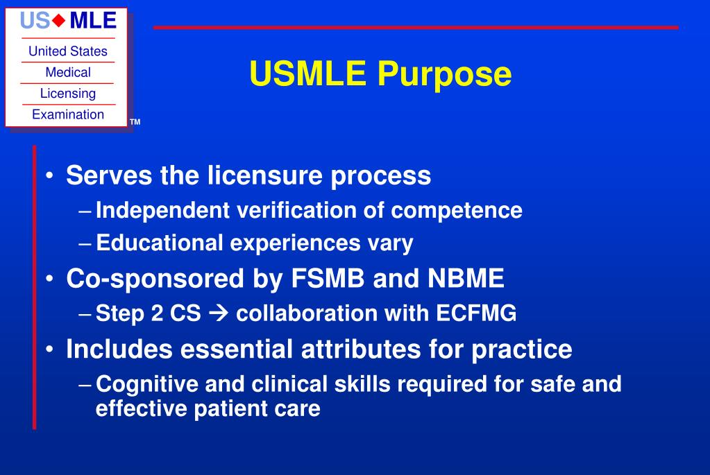 PPT - USMLE Step 2 Clinical Skills PowerPoint Presentation