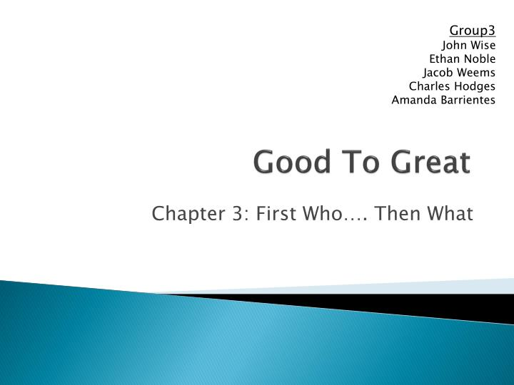 good to great n.