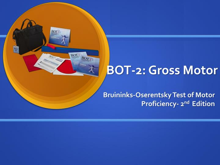 bot 2 gross motor n.
