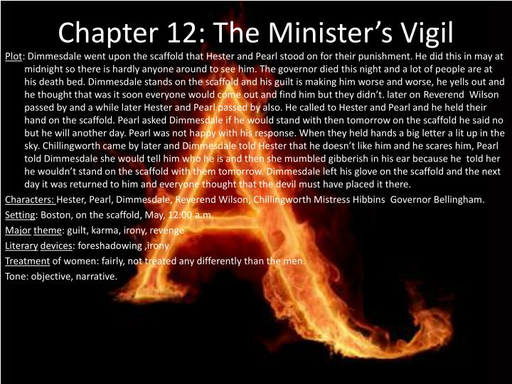 Chapter 12 the minister s vigil