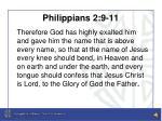 philippians 2 9 11