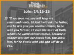 john 14 15 25