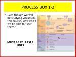 process box 1 2