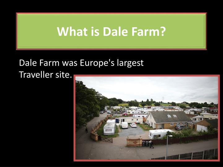 what is dale farm n.