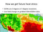 how we get future heat stress1