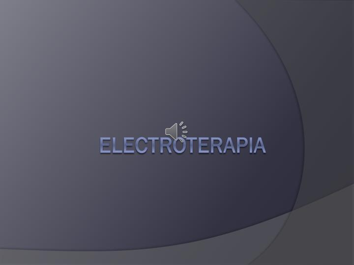 e lectroterapia n.